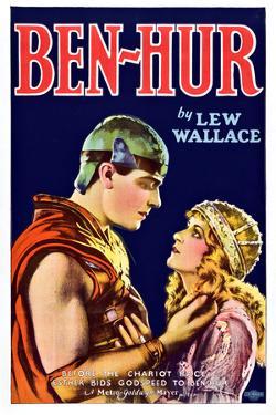 Ben-Hur Movie Ramon Novarro Poster Print