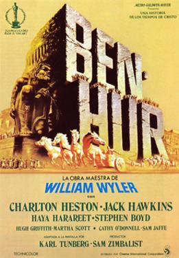 Ben-Hur, Spanish Poster Art, 1959