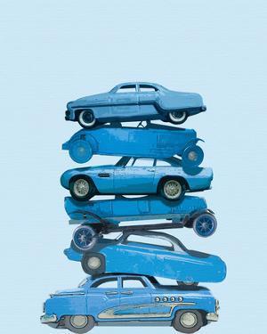 Car Stack I by Ben James