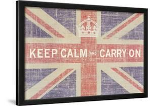 Keep Calm and Carry On (Union Jack) by Ben James