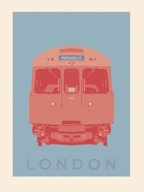 London - Piccadilly Tube by Ben James