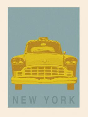 New York - Cab by Ben James