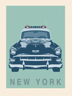New York - Cop Car by Ben James