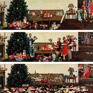 """Christmas Morning"", December 27, 1958 by Ben Kimberly Prins"