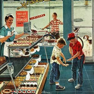"""Doughnuts for Loose Change"", March 29, 1958 by Ben Kimberly Prins"
