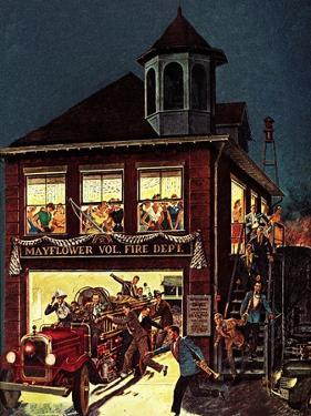 """Fireman's Ball,"" February 1, 1982 by Ben Kimberly Prins"