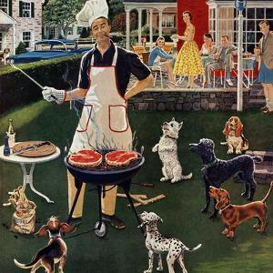 """""""Hot Dogs"""", September 13, 1958 by Ben Kimberly Prins"""
