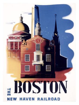 Boston, Massachusetts, New Haven Railroad