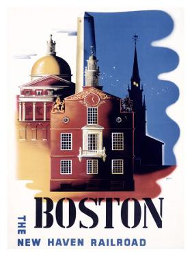 Boston, Massachusetts, New Haven Railroad by Ben Nason