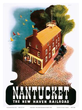 Nantucket - The New Haven Railroad by Ben Nason