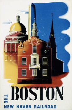 New Haven Railroad, Boston by Ben Nason