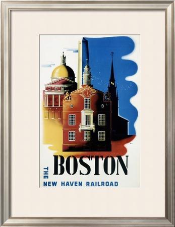 New Haven Railroad, Boston
