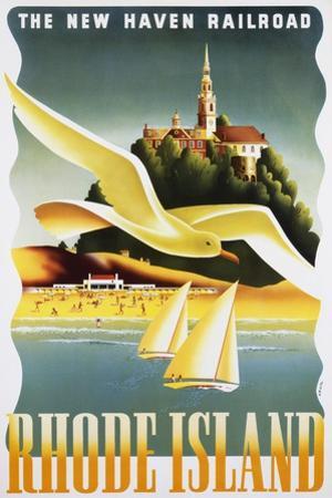 Rhode Island Poster by Ben Nason