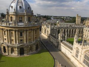 All Souls College, Oxford University, Oxford, Oxfordshire, England, United Kingdom, Europe by Ben Pipe