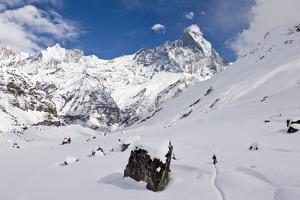 Annapurna Base Camp, Annapurna Himal, Nepal, Himalayas, Asia by Ben Pipe