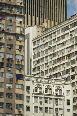 Architecture in Central Rio De Janeiro, Brazil, South America by Ben Pipe