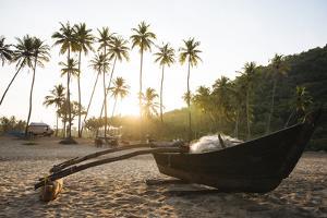 Dawn Light at Agonda Beach, Goa, India, South Asia by Ben Pipe