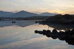 Derryclare Lough, Connemara, County Galway, Connacht, Republic of Ireland, Europe by Ben Pipe