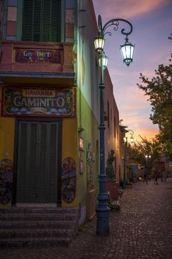 El Caminito at Dusk, La Boca, Buenos Aires, Argentina, South America by Ben Pipe
