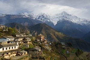Ghandruk, 1990 Metres, Annapurna Himal, Nepal, Himalayas, Asia by Ben Pipe