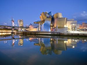 Guggenheim Museum, Bilbao, Euskal Herria, Euskadi, Spain, Europe by Ben Pipe