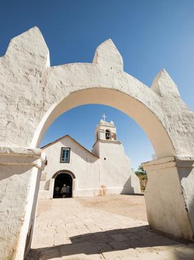 Iglesia De San Pedro, San Pedro De Atacama, Atacama Desert, El Norte Grande, Chile, South America by Ben Pipe