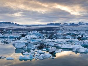 Jokulsarlon, South Iceland, Iceland, Polar Regions by Ben Pipe
