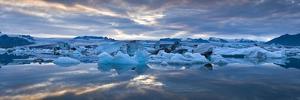 Jokulsarlon, South Iceland, Polar Regions by Ben Pipe