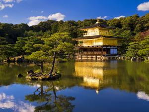 Kinkaku-Ji (Temple of the Golden Pavilion), Kyoto, Japan, Asia by Ben Pipe
