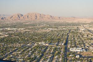 Las Vegas Skyline from Stratosphere Tower, Nevada, United States of America, North America by Ben Pipe