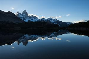 Last Light on the Fitz Roy Mountain Range by Ben Pipe