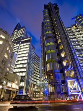 Lloyds Building, City of London, London, England, United Kingdom, Europe by Ben Pipe
