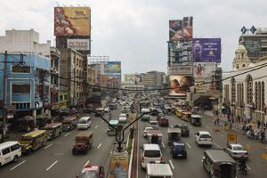 Quezon Boulevard, Quiapo, Manila, Philippines, Southeast Asia, Asia by Ben Pipe