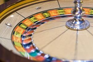 Roulette Wheel, Casino Interior, Las Vegas, Nevada, United States of America, North America by Ben Pipe