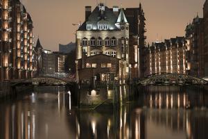 Speicherstadt District, Hafencity, Hamburg, Germany, Europe by Ben Pipe