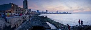 The Malecon, Havana, Cuba, West Indies, Central America by Ben Pipe