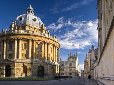 The Radcliffe Camera Building, Oxford University, Oxford, Oxfordshire, England, United Kingdom, Eur