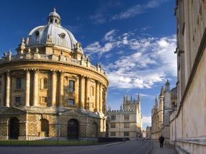 The Radcliffe Camera Building, Oxford University, Oxford, Oxfordshire, England, United Kingdom, Eur by Ben Pipe