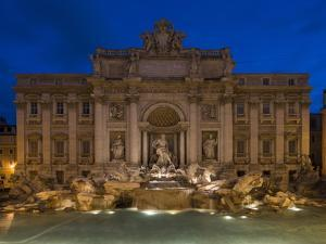 Trevi Fountain, Rome, Lazio, Italy, Europe by Ben Pipe