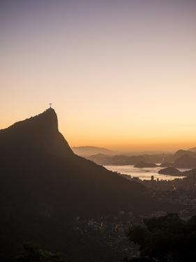 View from Chinese Vista at Dawn, Rio De Janeiro, Brazil, South America by Ben Pipe