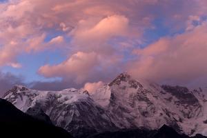 View Towards Cho Oyu, Gokyo, Solu Khumbu (Everest) Region, Nepal, Himalayas, Asia by Ben Pipe