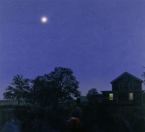 Bartos Moon, 1986 by Ben Schonzeit