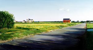 Fairfield Pond Lane, 1986 by Ben Schonzeit