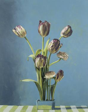 French Tulips, 1992 by Ben Schonzeit