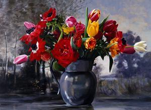Pewter Grey Corot, 1999 by Ben Schonzeit