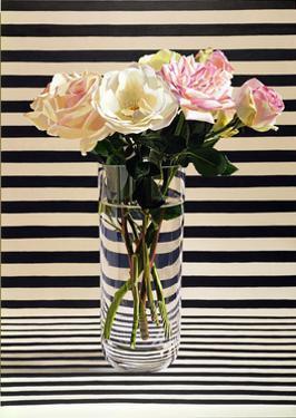 Striped Chintz Rose, 1998 by Ben Schonzeit