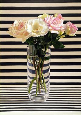 Striped Chintz Rose, 1998 by Ben Schonzeit