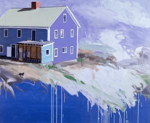 The Blue House, 1985 by Ben Schonzeit