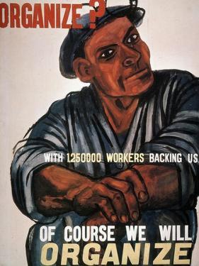 Labor: Poster, 1930S by Ben Shahn