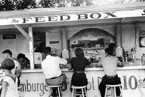Ohio: Luncheonette, 1938 by Ben Shahn